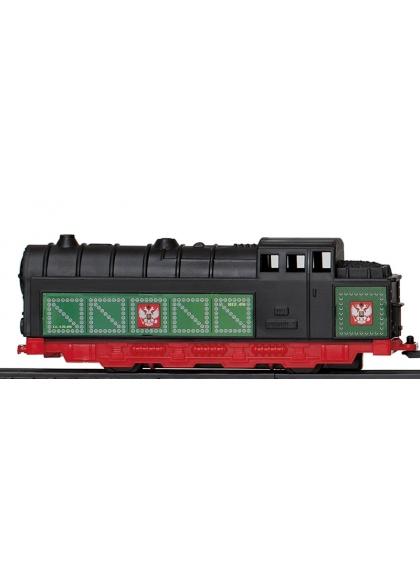 Locomotora Vapor Con Motor