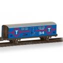 Vagón Mercancías Chapa Azul