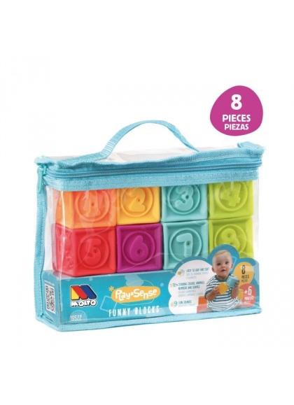Bag Touch Cubes 8 PCs