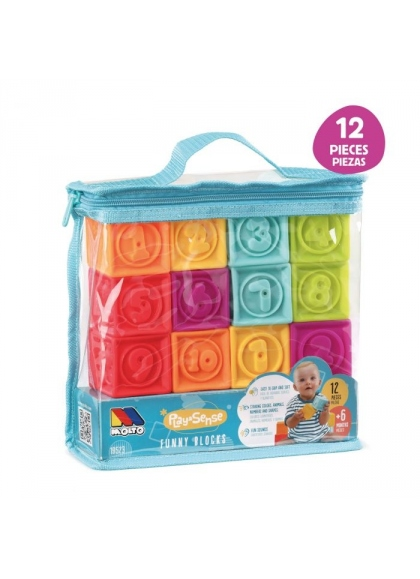 Bag Touch The Cubes 12 PCs