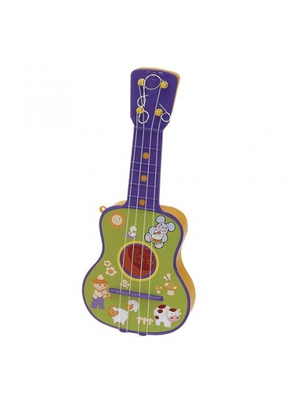 Guitarra 4 Cuerdas En Estuche