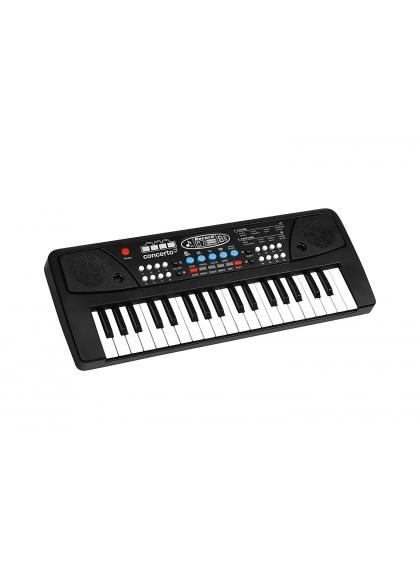 Organo 37 Teclas Con Micrófono Toma Usb Y Cable Audio
