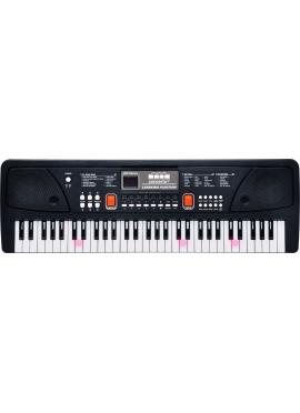Organo 61 Teclas Con Micrófono Toma Usb Y Cable Audio