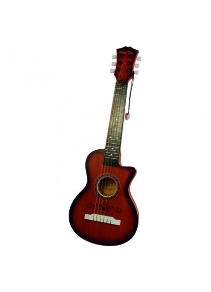 Guitare 6 Cordes, 59 Cm Véritable Source De Matières Plastiques
