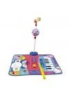 Alfombra Bateria Y Piano Con Micro Y Sporte Micrófono