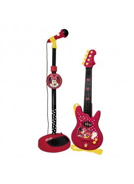 Conjunto Guitarra Y Micro Minnie Mouse