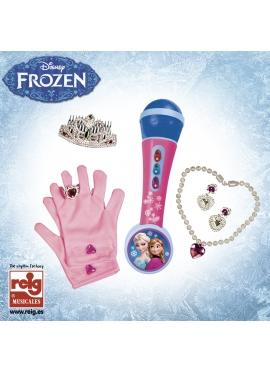 Micro De Mano Con Accesoprios Frozen
