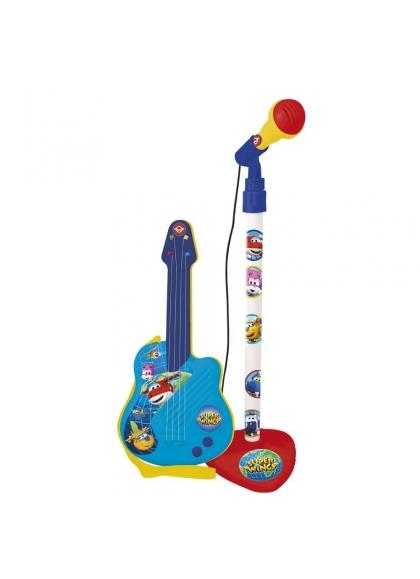 Micro con guitarra