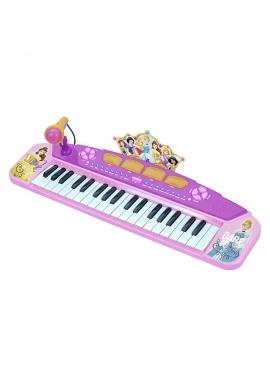Keyboard Con Conexión Y Salida Audio Mp3 Princesas Disney