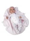 Muñecas Bebes Reborn Jesmar Bebé Real Bebé Dani sin pelo de 45cm