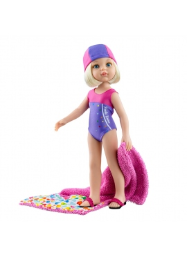 Doll Claudia swimmer 2020 Paola Reina