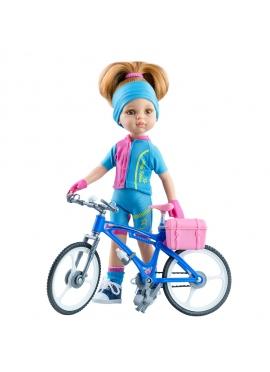 Muñeca Dasha Ciclista 2020 (ENVIO A PARTIR DEL 23 DEL MARZO)
