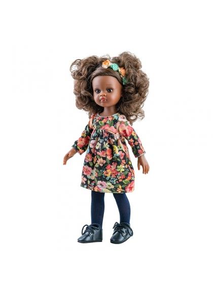 Muñeca Nora 2020 Paola Reina - Vestido estampado Muñecas Paola Reina las Amigas 32 cm