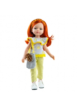 Rothaarige Liu Puppe 2020 Paola Reina