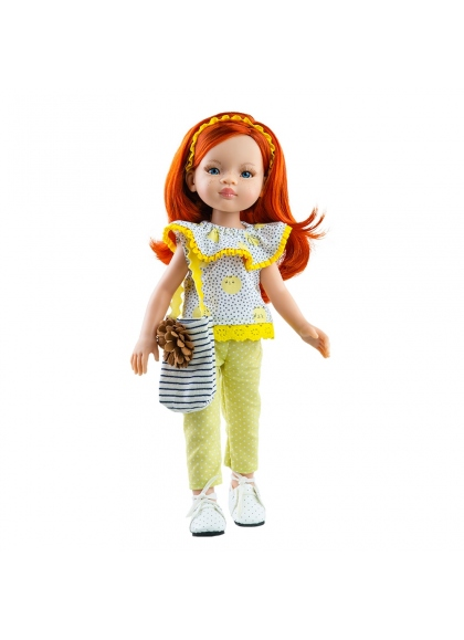 Rothaarige Liu Puppe 2020 Paola Reina Paola Reina Puppen Las Amigas 32 cm