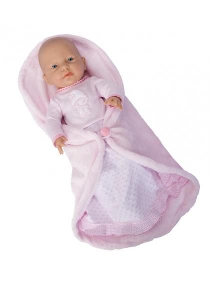 Rn New Born Baby Niña 42 cm Manta Cambiador