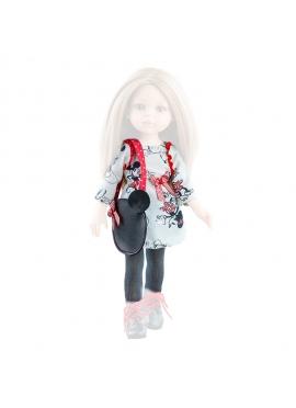 Vestido muñeca estampado 32 cm - Las Amigas de Paola Reina