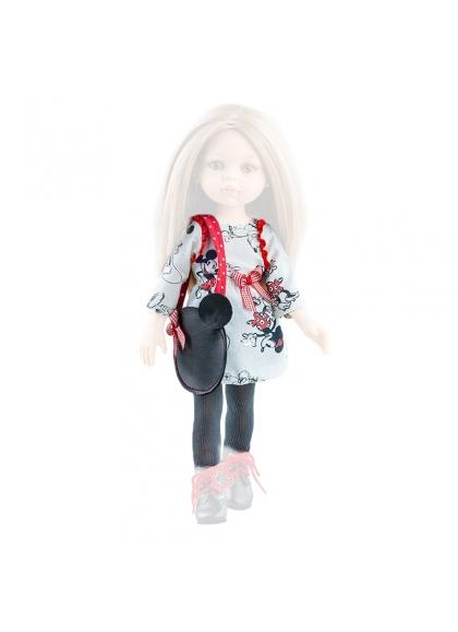 Vestido muñeca estampado 32 cm - Las Amigas de Paola Reina Muñecas Paola Reina Vestidos y Complementos las Amigas 32 Cm
