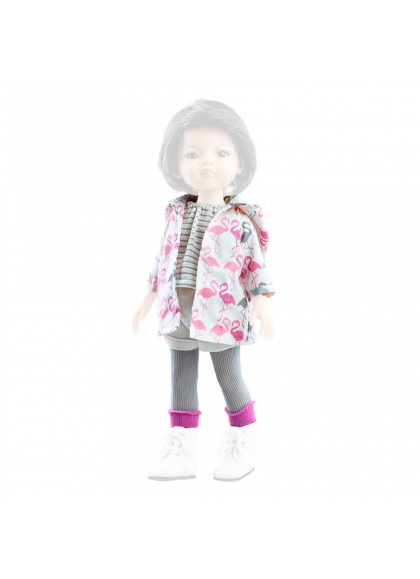 Set ropa entretiempo muñeca 32 cm - Las Amigas de Paola Reina Muñecas Paola Reina Vestidos y Complementos las Amigas 32 Cm