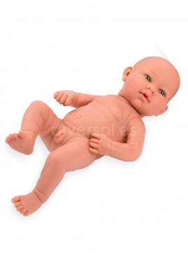 Real Baby Niño Muñeco Desnudo 42cm