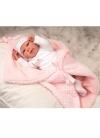 Wiedergeborene Arien 45 cm Rocio mit Decke
