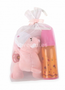 Set Plush Pink Biberon And Nipple (sent in April)