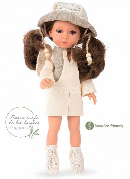Muñecas Arias Elegance 36 Cm Elegance 36 Cm Carlota Ninfa de los Bosques