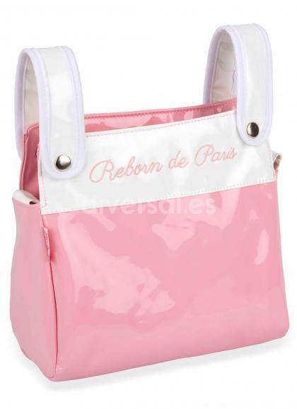 Coche Gemelar Reborn De Paris 45x70x73 Cm Con Bolso