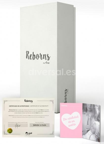 Reborn Arias 45 Cm Rocio Con Coperta