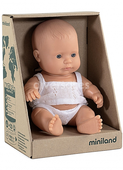 Child Europe in Box