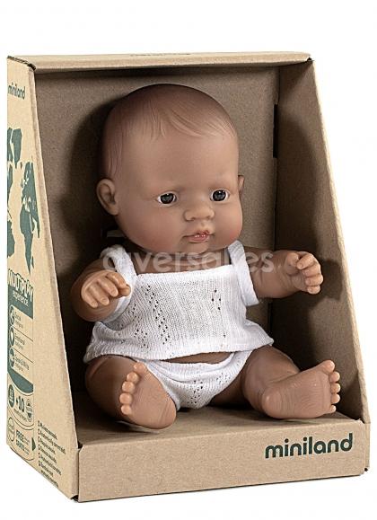 The child in Latin America in Box
