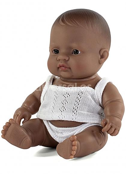 Niño Latinoamericano en Estuche 21 cm
