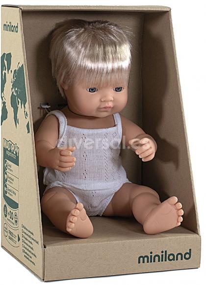 The child in the European Underwear