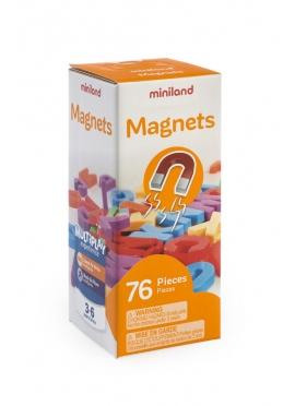Магнитные буквы. Прописные 76 шт.