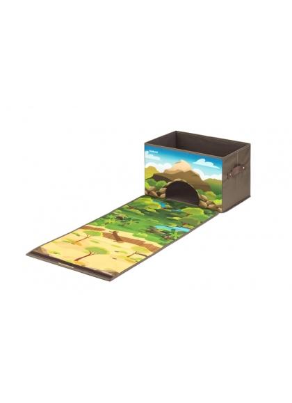 Коробка с лесом и джунглями