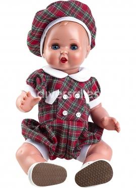 Хуанин Бебе Зелено-красный шотландский сет
