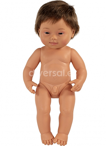 Baby European Down Syndrome Child 38 Cm