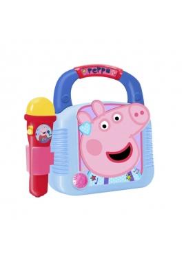 Reproductor Mp3 Con Micrófono Y Bluetooth Peppa Pig