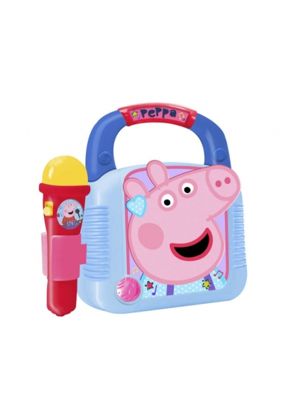Mp3-плеер с микрофоном и Bluetooth Peppa Pig
