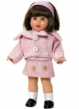 MINI Mariquita CLOTH SET SALMON