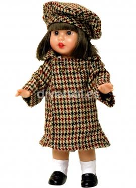 Mini Mariquita Abrigo Pata de Gallo