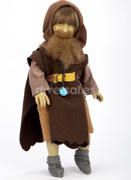 Muñecas Elfos de Pep Catalá Cuentos y Leyendas Elfo Rübezahl 38 cm