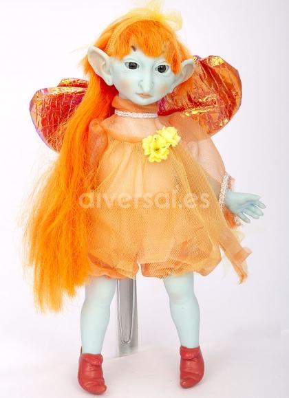 Muñecas Elfos de Pep Catalá Haditas Estaciones Elfo Verano 28 cm