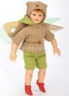 Muñecas Elfos de Pep Catalá Haditas de la Pradera Elfo Branca 28 cm