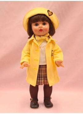 Mariquita Perez Con Conjunto Chubasquero Amarillo