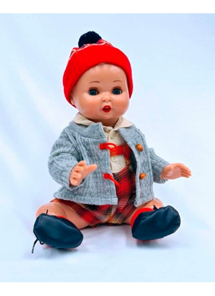Комплект Juanin Baby с серым кардиганом