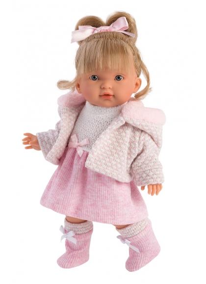 European Valeria 28 Cm Llorens Cute Dolls 28032