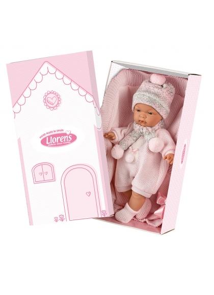 Joelle Llorona Pink Shawl 38 Cm