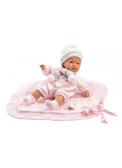 Joelle Llorona Pink Shawl 38 Cm Llorens Los llorones 38938