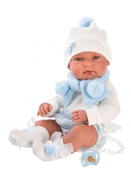 Nico Nana Celeste 40 Cm Llorens Newborns very soft 73861